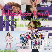 Pack Escolar Pedido by CarluEditionsSG