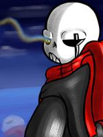 Sans isn't feeling up to it by ReneeIsdetermined