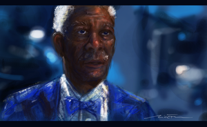 Morgan Freeman by Nicole5529