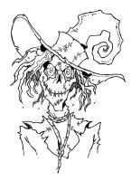 SMILING SCARECROW - Sketch by Manthomex