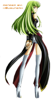 C.C. Code Geass Render by Suzuneah