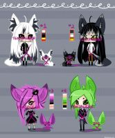 {CLOSED Auction} ADOPTS 3rd SET. by TentacleF00
