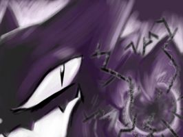 Haunter's Shadowball. by DawnAllies