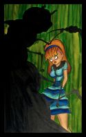 Alice with the Caterpillar by Alexis-Paige