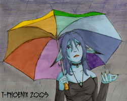 Oh... -Under the Rain- by Heliotrope-Housecat