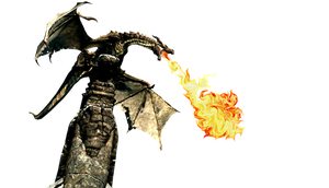 Dragon breathing fire icon by SlamItIcon