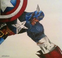 Captain America Better Quality by JeffreeScot