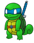Teenage Mutant Ninja Squirtle by KHCloudStrife
