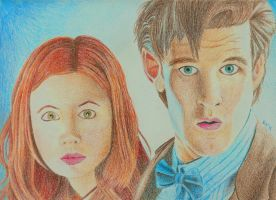 Eleven and Pond by luckynumber44
