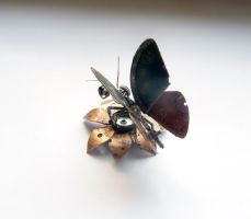 Mechanical Butterfly (III) by AMechanicalMind