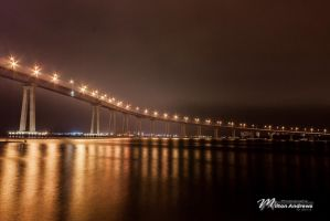 Coronado Bridge by Milton-Andrews