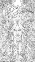 Cernunnos Sketch by kyoht