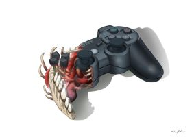 Playstation 3 Anatomie by Madspeitersen