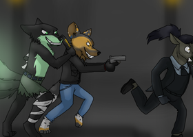 Chasing Dark ~ Comission for Ratce8386 by RIOPerla