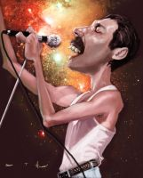 Freddie Mercury by DevonneAmos