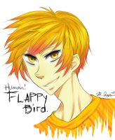 Human!Flappy Bird by HigitsuneTenshi