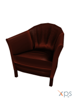 Classy Armchair Office [XPS] by LexaKiness
