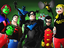 Young Justice Five Years Later by portfan
