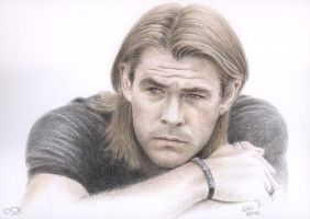 Chris Hemsworth by Susie-K