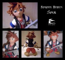 Sora Sculpture by lordzasz