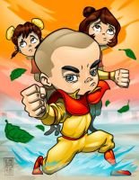 Legend of Korra - Meelo by lordmesa