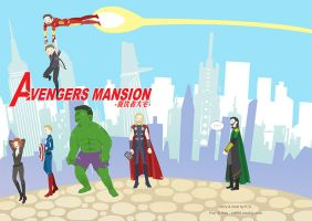 Avengers Mansion-cover by KD666