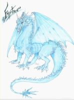 Frost Dragon by dragons-shadow