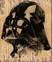 Darth Vader in Cardboard by nicollearl