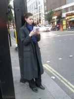 Sherlock BBC cosplay  - Case-solving in London I by ArwendeLuhtiene