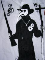plague doctor by Myruso