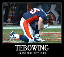 Tebowing It's The Cool Thing To Do by jasonutep