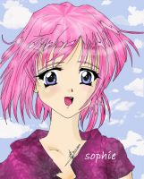 my First anime Drawing by Sophie--Chan
