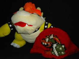 Bowser hat by DelightfulBunny