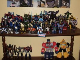 MY TRANSFORMERS COLLECTION by yodana