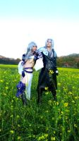 Sephiroth and Kuja by Dolly-chan