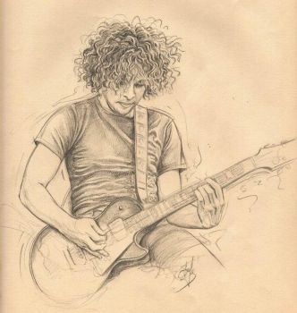 Ray Toro by stefynik