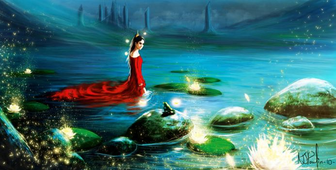 The Princess and the Frog by NJPoulin