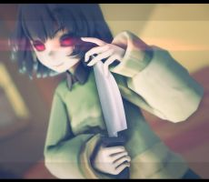 *Chara by TheLadyMadHatter