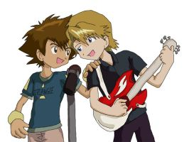 Digimon: Singing - Yamachi by Shigerugal
