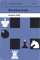 Classic Game Cover - Bomberman by CyberMoonStudios