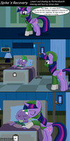 Collab with Diren-chan -Spike's Recovery comic by Fluttershy626