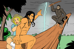 Tarzan and the Planet of the Apes by EarthmanPrime