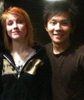 Hayley Williams and Jack Liang by JXViper
