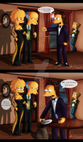 Lisa Got Trapped (continuation) by MissFuturama