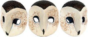 Miss Monster Barn Owl Mask by Felissa