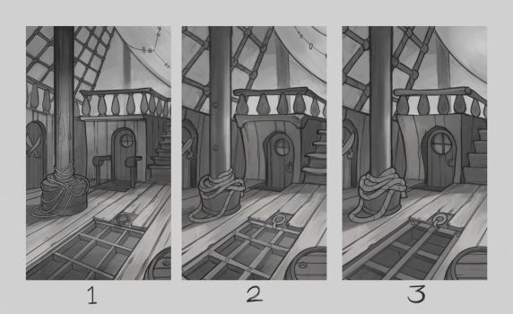 Nordeus Pirates Environment Sketches Deck 01 by atomhawk