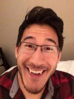 Markiplier - Red Eyes and Fangs (Request) by ChristinePi