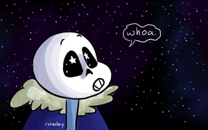 Sans and Stars by Geli-K