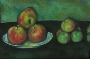 Cezanne copy by toneloperu