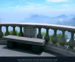 Corcovado - bench with a view by kuschelirmel-stock